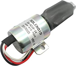 600-815-7550 Stop Solenoid SA-4269-24 DC24V Fuel Shutdown Solenoid Shut Off Solenoid Cut Off Solenoid for Komatsu PC75US-3 PC75UU-2 PC75UU-3 PC60-7 4D102 4D95 6D102 Excavator Engine Aftermarket Parts