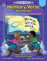 Memory Verse Mysteries, Grades 1 - 3: Break the Code and Discover God?s Word (Fun Faith-Builders)