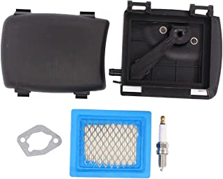 """MOTOKU 14 743 03-S Air Filter Cover Base Cleaner Kit Fits for Kohler XT650 XT675 Engine Husqvarna Toro 22"""" Recycler Lawn M..."""