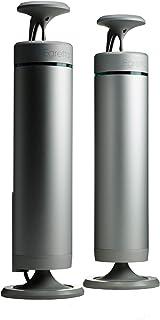 Egretta エグレッタ スピーカー ナチュラルサウンド アクティブ PC 本格 「TS550」 360°無指向性 アンプ内蔵モデル 光デジタル/USB/RCA (silver)