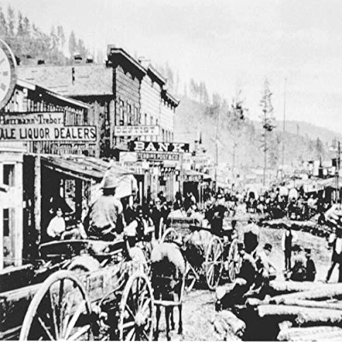 Audio Journeys: The Wild West Town of Deadwood, South Dakota audiobook cover art