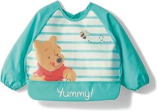 [ベルメゾン] ディズニー お食事エプロン 防水 袖あり 長袖 食事用スタイ くまのプーさん