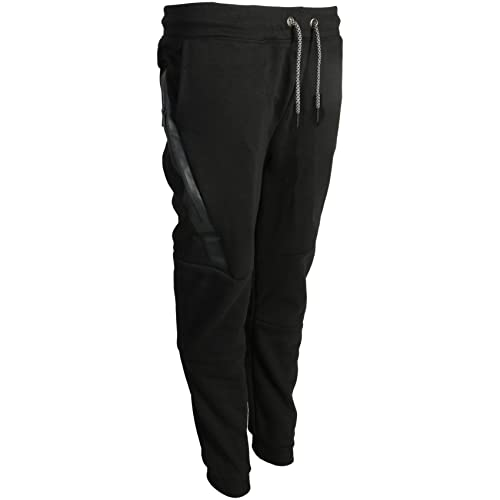 3093a4655a90 Galaxy by Harvic Boys Tech Fleece Performance Active Fleece Jogger Sweatpant