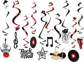 rockstar theme party decorations