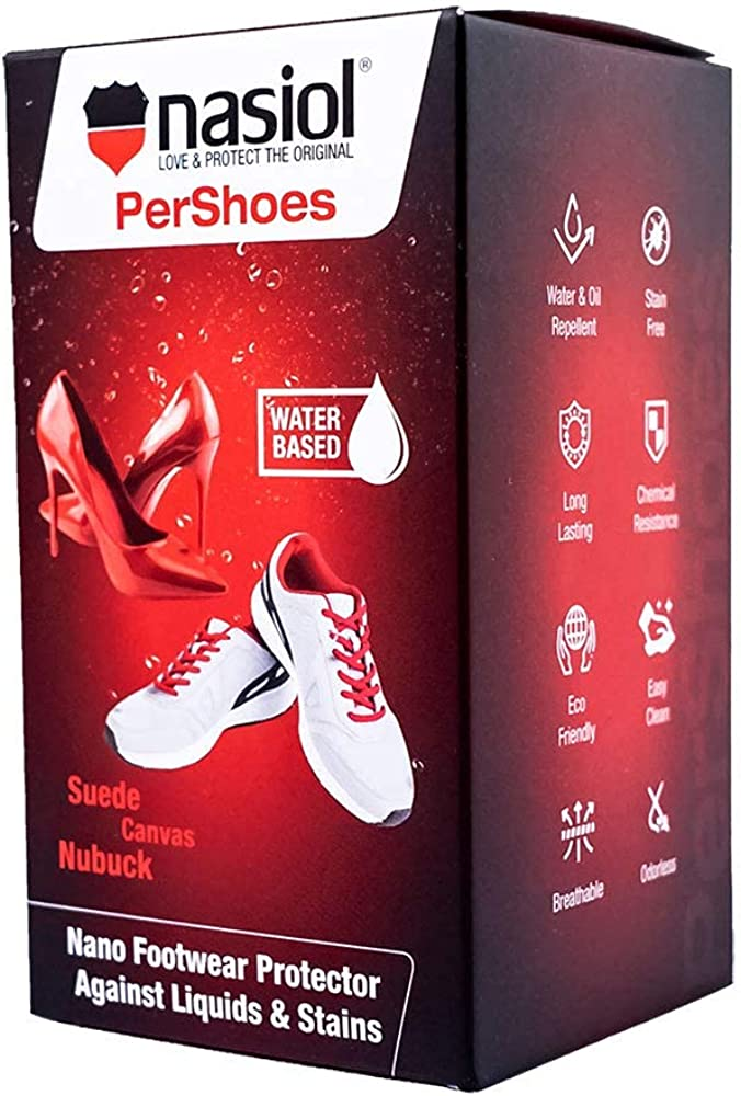 Nasiol PerShoes Nano Shoe Max 81% OFF Protection Pro and Nubuck Spray Suede Free Shipping Cheap Bargain Gift