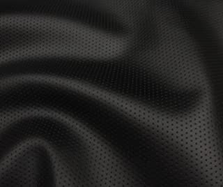 LUVFABRICS Black Perforated Commercial Marine Grade Upholstery Vinyls Faux Leather Fabric Sold by The Yard - Shipped Rolled
