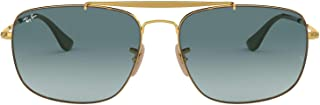 Ray-Ban Men's The Colonel Square Sunglasses HAVANA 57.9 mm