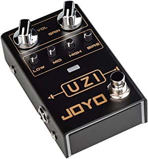 JOYO R-03 UZI Distortion Pedal Guitar Effect Pedal for Heavy Metal Music, With BIAS Knob, True Bypass, Guitar Bass Accessories