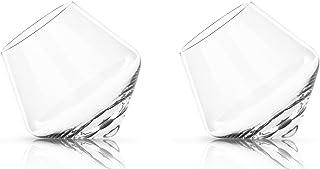 Glassquisite - Design Gläser - 2er Set mit Kreisel-Effekt - 2 x 275ml 1