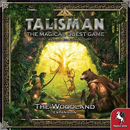 Pegasus Spiele 56210E - Talisman - The Woodland (Expansion)