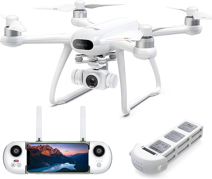 Drone gps con fotocamera 4k potensic drone con gps + glonass lunga 31 minuti di volo B08D94FWZ3