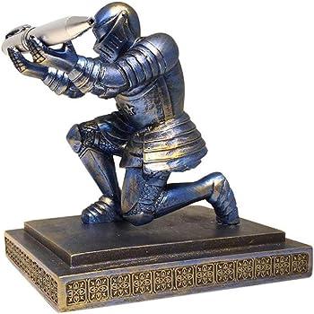 ThreeH Executive Knight Stifthalter Stifthalter mit einem Stift zur individuellen Dekoration für den Geschenkpreis des Desk Office Blau