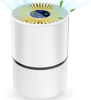 Purificador de Aire 4 en 1 para Hogar Oficina, con Filtro HEPA y Carbón Activado,Generador de Io...