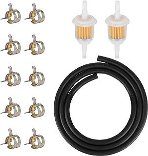 Pour moto scooter Transparent Par Winwill 10/filtres /à carburant en ligne pour tuyau de 6-7/mm