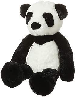 CharaHome Plush Panda Bear Stuffed Animal, Soft Cuddly, Black and White, Perfect for Girls Boys Newborn,10''