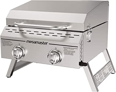 Megamaster 820-0033M Propane Gas Grill, Stainless Steel