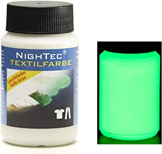 NighTec - Pintura Textil (100 ml), Color Fluorescente
