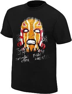 WWE AUTHENTIC WEAR Jeff Hardy Obsolete T-Shirt Black Medium