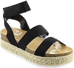 Best women's black platform sandals Reviews