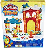 Play Doh - Kit Estación de Bomberos (Hasbro B3415EU4)