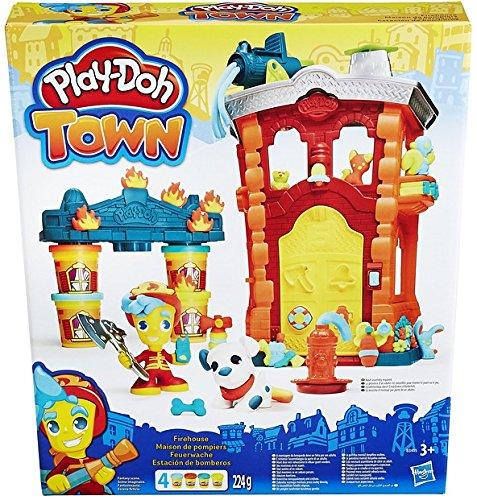 Play-Doh Hasbro B3415EU4 - Town Feuerwache, Knete