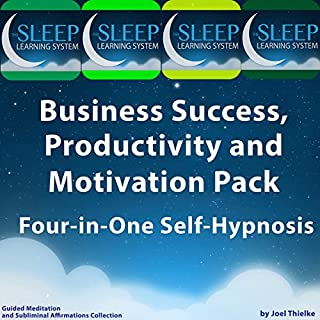 Business Success, Productivity, and Motivation Pack audiobook cover art