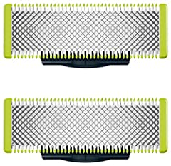 Only OneBlade replacement blades have rounded tips that protect your skin and provide a shave that's not too close, allowing you to perfect your look, just the way you like it The OneBlade trims, edges and shaves any length of hair Our blades can be ...