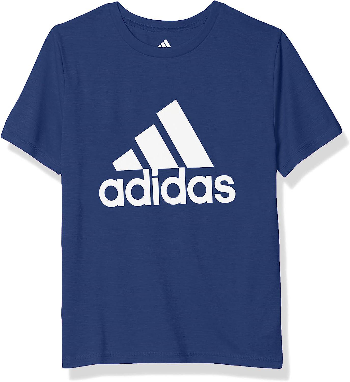 adidas boys Short Sleeve Aeroready Performance Logo Tee T-shirt
