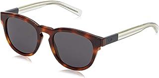 Dior - BLACKTIE212S Y1 Mwa Gafas de sol, Gris (Havana Crygrey/Grey), 52 para Hombre