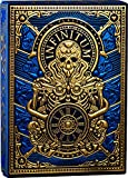 Infinitum Royal Blue & Gold Playing Cards, Deck of Cards with Free Card Game eBook, Premium Card Deck, Cool Poker Cards, Unique Bright Colors for Kids & Adults, Card Decks Games, Standard Size