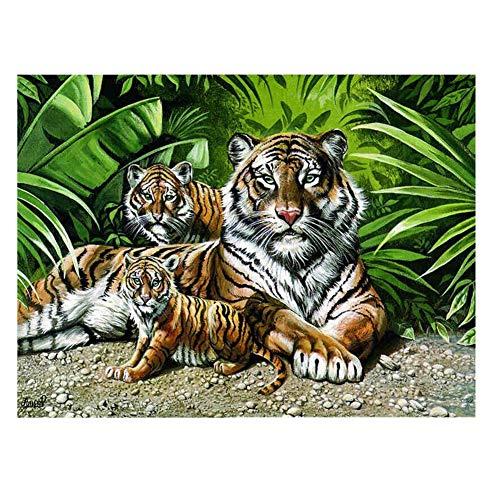 QIDI 2000 Piezas De Rompecabezas De Madera De Bosques Adultos Rey Rompecabezas Juguetes Educativos Pintura Al Óleo Animal Carácter del Paisaje (Size : 520 Pieces)