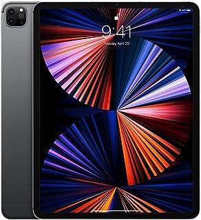 جهاز ايباد برو 2021 (الجيل الخامس) بشاشة 12.9 انش وشريحة ام 1 سعة 256 جيجا وخاصية الواي فاي - رمادي سبيس