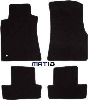 MAT10 – Black Line: Ford Mustang Coupe Baujahr 2004 12  2010 12 Auto Fußmatten Autoteppich Dilour Nadelfilz gute Qualität 4 teilig Schwarz Garantierte Passform