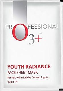O3+ Youth Radiance Face Sheet Mask for Fine Lines & Wrinkle Removals (3 Pcs, 90g).