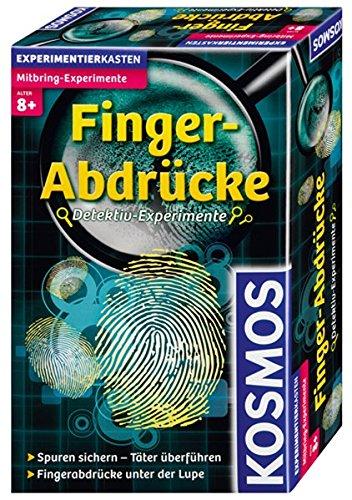 KOSMOS 658410 - Fingerabdrücke, Detektiv-Experimente, Experimentierset für Kinder ab 8 Jahre