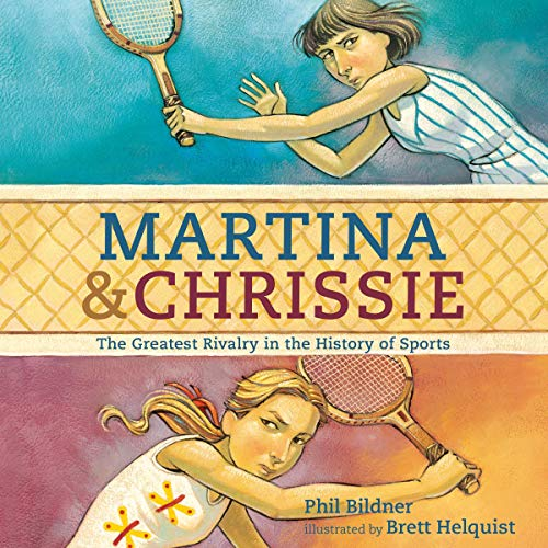 Martina and Chrissie audiobook cover art
