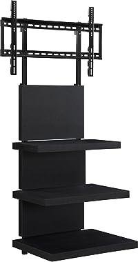 """Ameriwood Home Elevation TV Stand for TVs 60"""" Wide, Black"""
