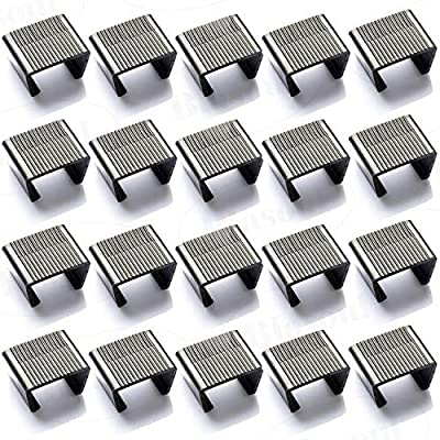 Blasoul Outdoor Patio Wicker Furniture Sofa Rattan Chair Sofa Fasteners Clip Sectional Connector