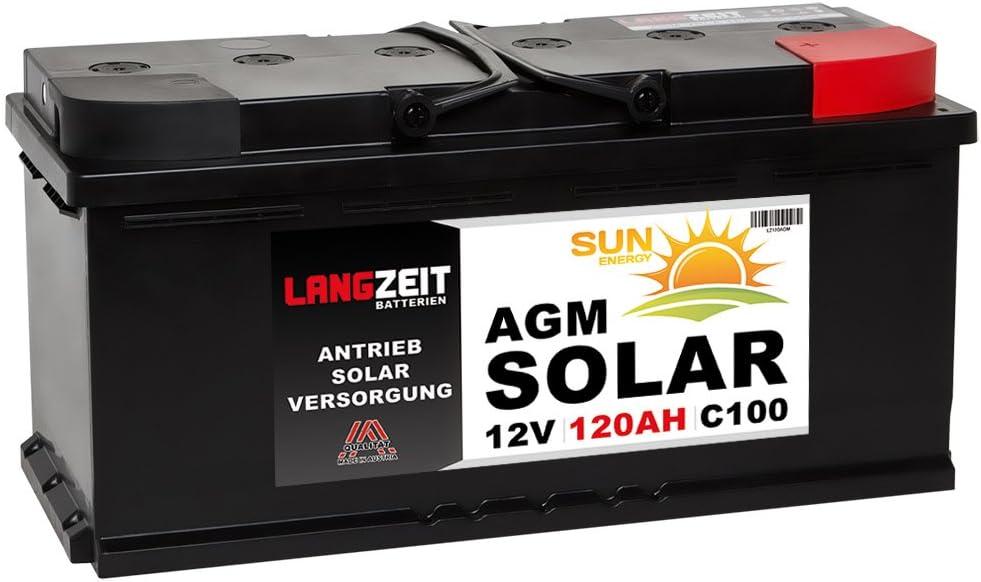 Solarbatterie 12v 90ah Agm Gel Batterie Wohnmobil Boot Mover Versorgungsbatterie Solar Akku 80ah 85ah Auto