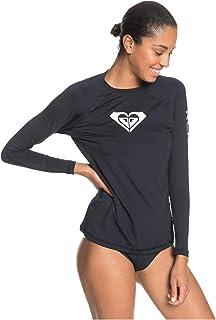 Roxy Women's Beach Classics - Long Sleeve UPF Rash Vest for Women Rash Guard Shirt