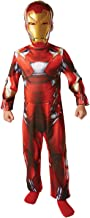 Marvel Captain America Civil War Classic Iron Man (NO MUSCLES) - Kids Costume 3 - 4 years , Modelos/colores Surtidos, 1 Unidad