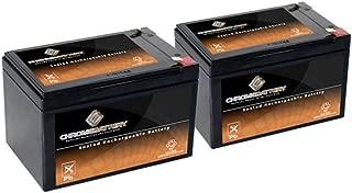 Replacement 12V 15AH Batteries - 2PK