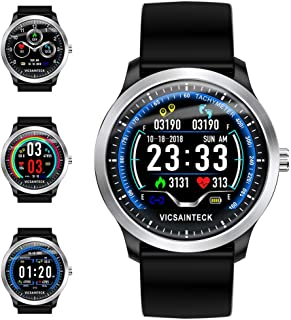Smart Watch, Sports Fitness Tracker con Monitor de Ritmo ...