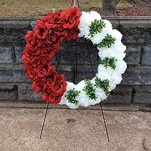 Cemetery Wreath, Memorial Flowers