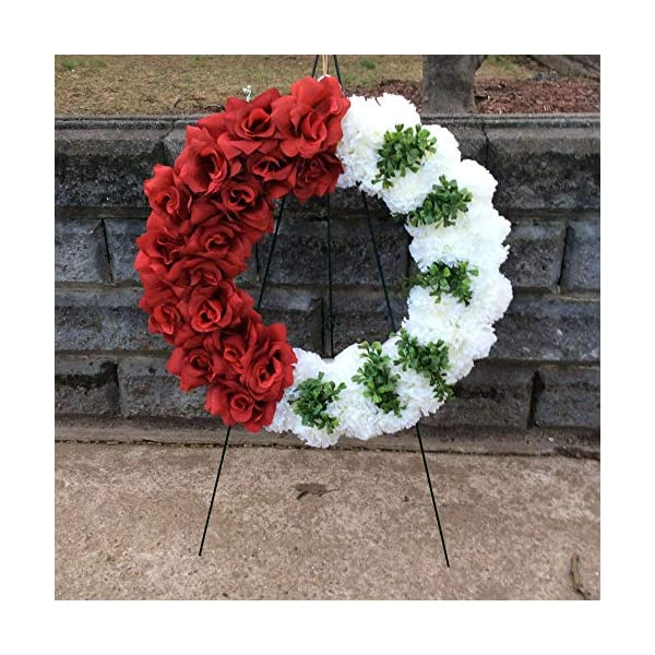 Cemetery Wreath, Memorial Flowers