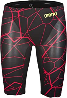 Arena Powerskin Carbon Air Jammer, Black/Bright Red, 26