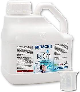 Metacril Kal Stop 3 l + dosificador. Antical y aclarador no espumoso. Ideal para piscina o hidromasaje (Teuco, Jacuzzi, Dimhora, Intex, Bestway, etc.).