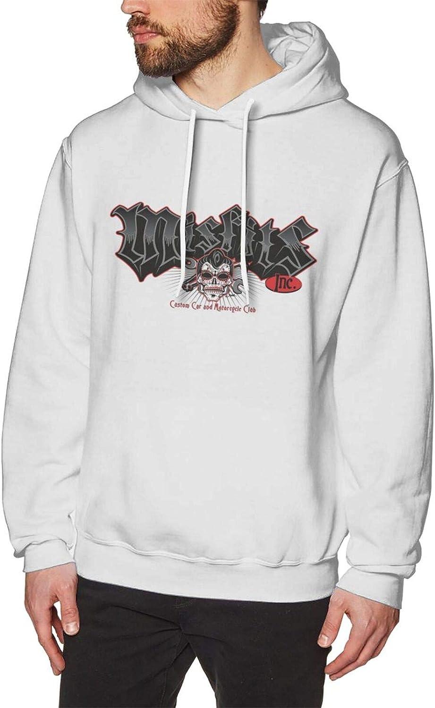 Teen Men Misfits Max 59% Max 49% OFF OFF Logo Hooded Long Pullover Swe Sweatshirt Sleeve