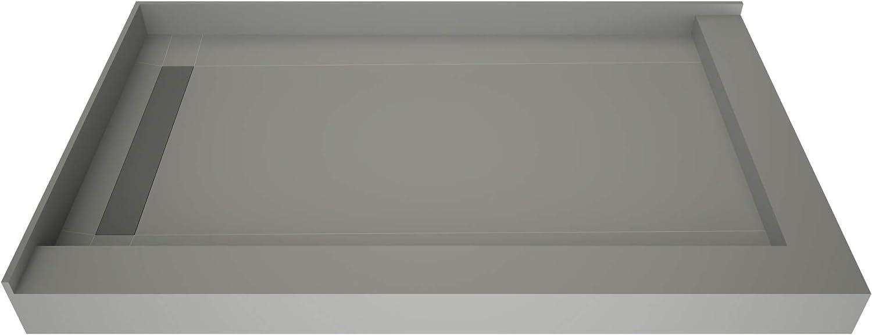Tile Ranking TOP16 sale Redi F4272L-DRWFBVZ Shower Pan Kit Left Flashing Drai with
