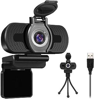 LarmTek 1080P Full HD Webcam with Webcam Cover,Computer Laptop PC Mac Desktop Camera for Conference and Video Call,Pro Str...